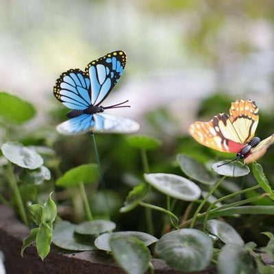 50Pcs Butterfly Garden Ornaments