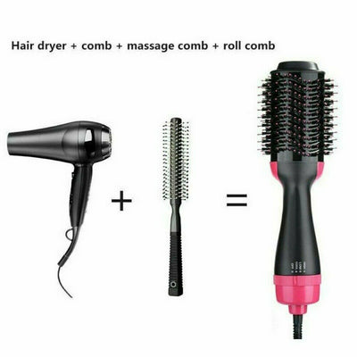 Portable 4 in 1 Hot Brush