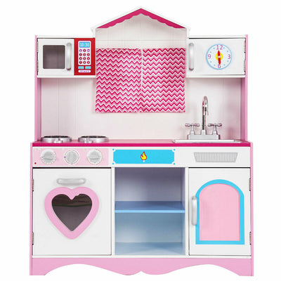 HML Large Wooden Play Kitchen
