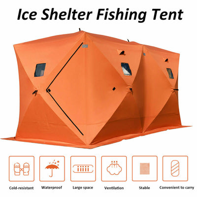 8-person Portable Waterproof  Family Tent