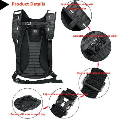 Prime Spacious Motorcycle Backpack