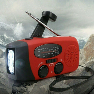 Torch Light with DAB Radio