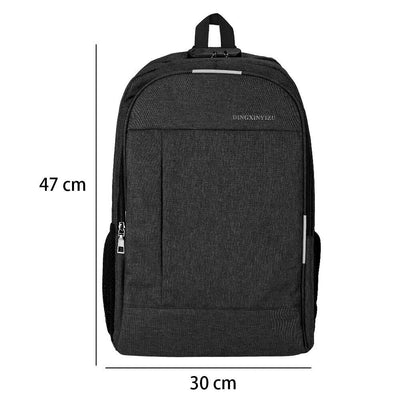 "17"" Premium Anti-theft Laptop Backpack with USB Port"