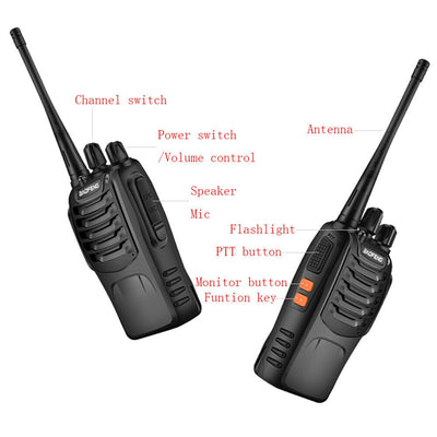 Quad BFG Walkie Talkie