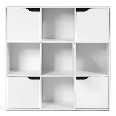 9 Cube Storage Unit Side Cabinet