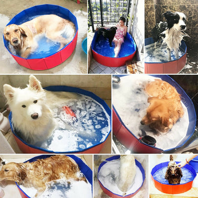 Portable Dog Swimming Pool Foldable