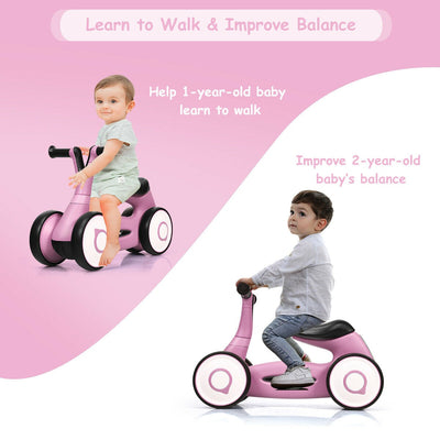 Mini 4 Wheeled Toddler Bike - Blue