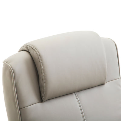 Lux Adjustable Recliner Cream Armchair