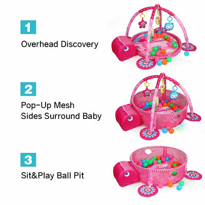 3 in 1 Turtle Baby Gym
