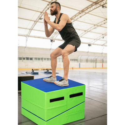 Large Foldable Incline Gymnastics Mat