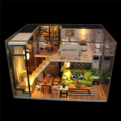 DIY Doll house with LED Lights