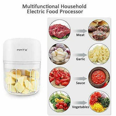 MMTX Electric Small Food Processor