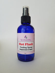 Hot Flash Cooling Spray - Peppermint & Basil