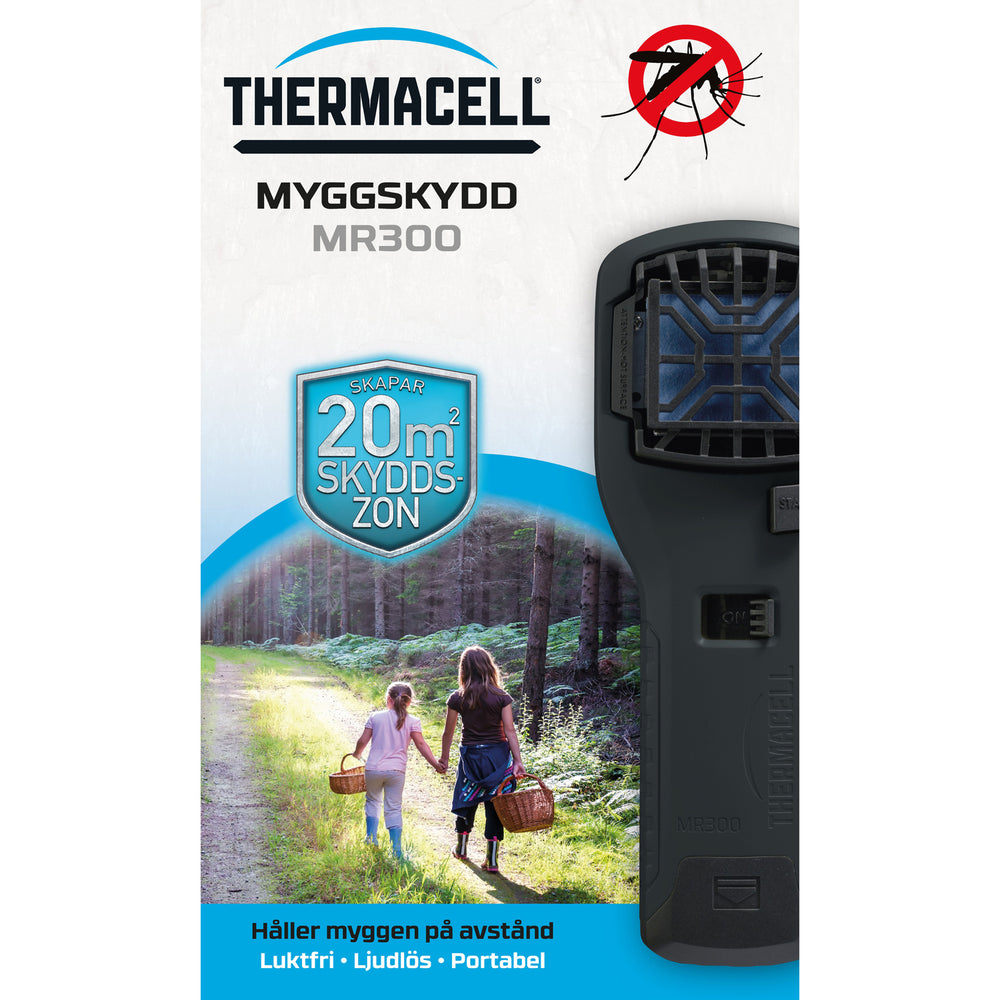 Thermacell Myggskydd MR300 Svart