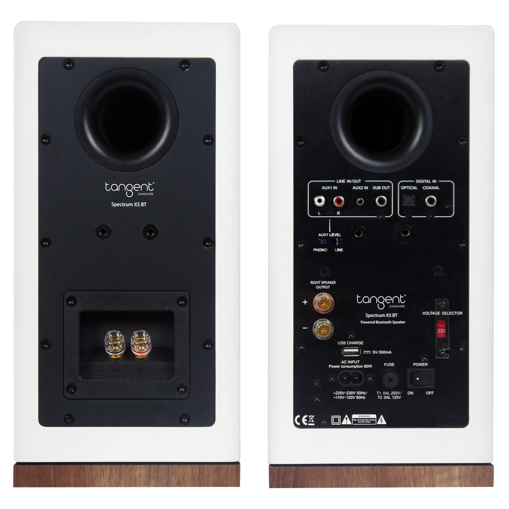 Tangent Spectrum X5 BT Phono Pair Whit