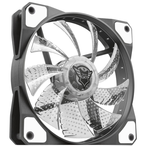 Trust GXT 762W LED silent PC fan Wh