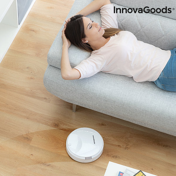 White InnovaGoods Rovac 1000 Intelligent Robot Vacuum Cleaner