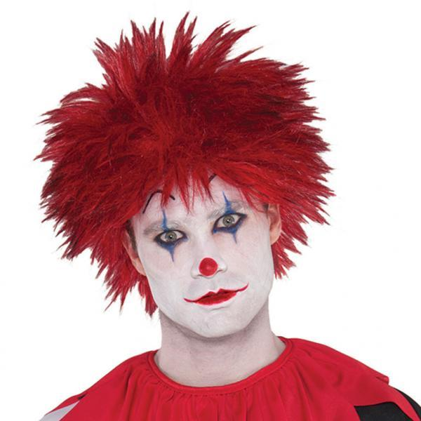 Adults Evil Clown Wig - Kvittex