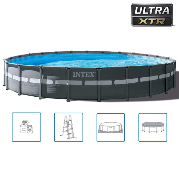 Intex Pool Ulta XTR Frame set rund 732x132 cm 26340GN - Kvittex