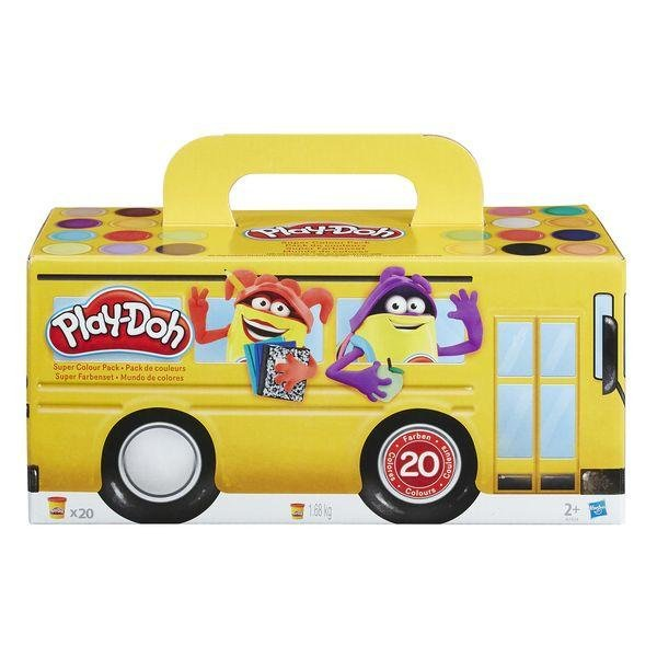 Play-Doh 20xPack Back to School Hasbro - Kvittex