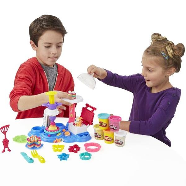 Play-Doh Cake Party Playset Hasbro - Kvittex