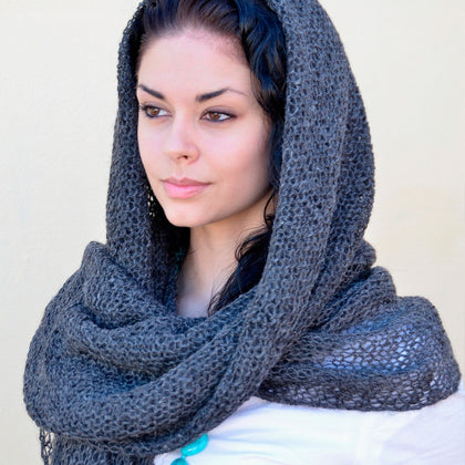 Angelco Accessories Natural Alpaca Shawl