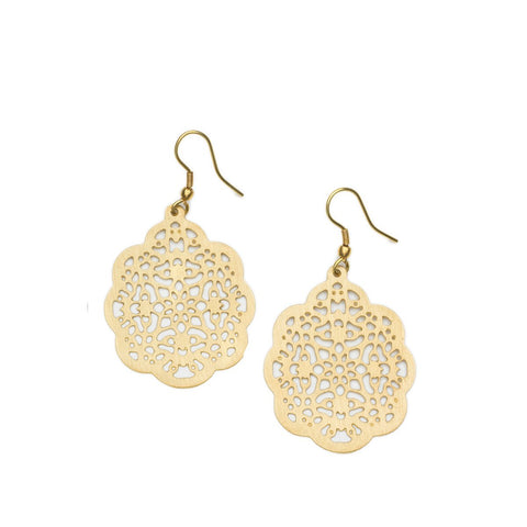 Angelco Accessories Filigree Lace Earrings