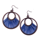 Angelco Accessories Iris earrings - blue