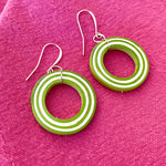 Angelco Accessories Candy Loop Paper Earrings