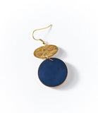 Angelco Accessories Cobalt disc earrings