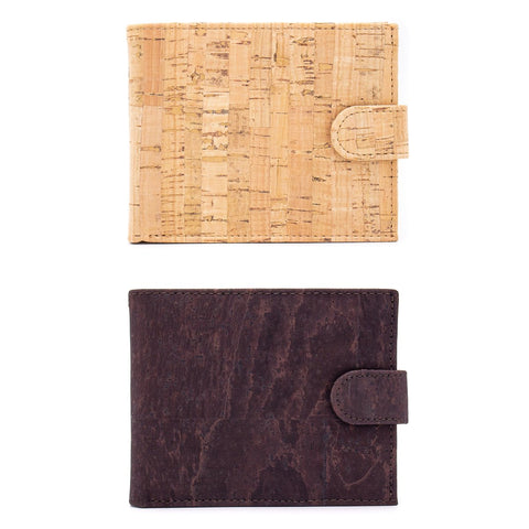 Angelco Accessories Men's style cork wallet