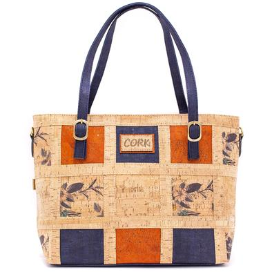 Angelco Accessories Patchwork Cork Handbag