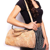 Angelco Accessories - Small duffle style cork bag