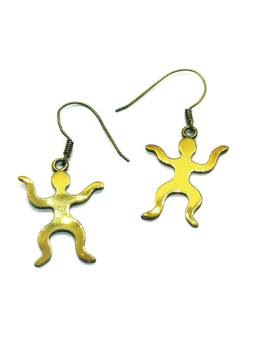 Angelco Accessories Dancing People Earrings