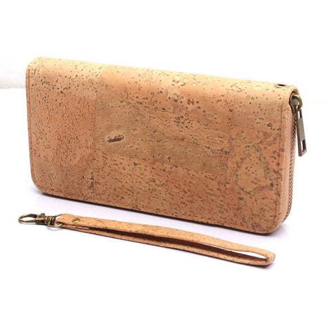 Angelco Accessories Plain Natural Cork Wallet
