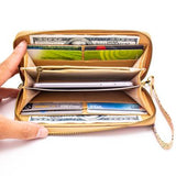 Angelco Accessories Rainbow cork wallet