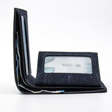 Angelco Accessories Navy cork slimline wallet