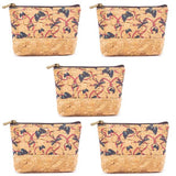 Angelco Accessories Cork half patterned coin purse