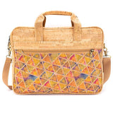 Angelco Accessories Luxe cork laptop bag