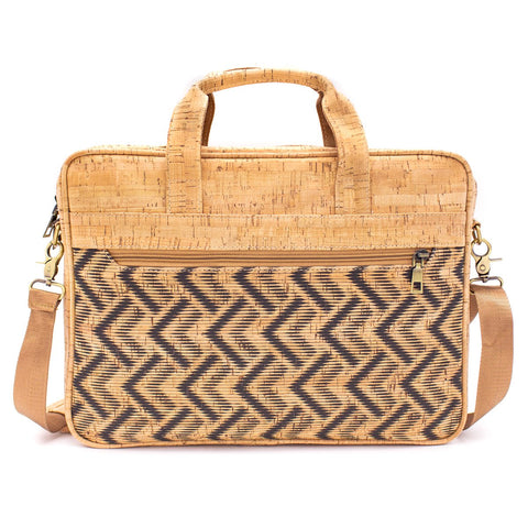 Luxe cork laptop bag - 2 styles available