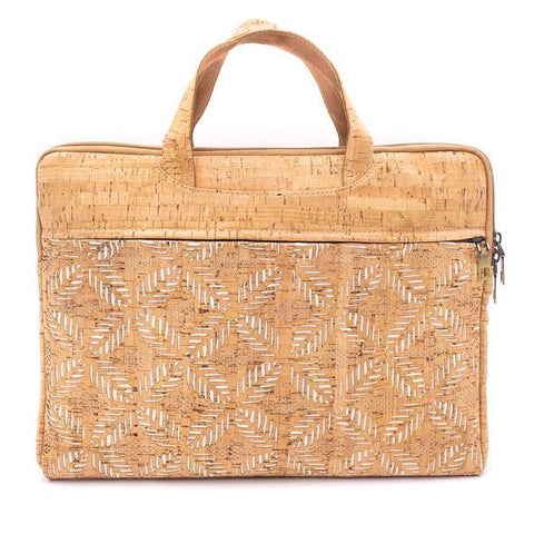 Angelco Accessories Cork Laptop Briefcase