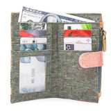Angelco Accessories Patterned Cork Soft Wallet
