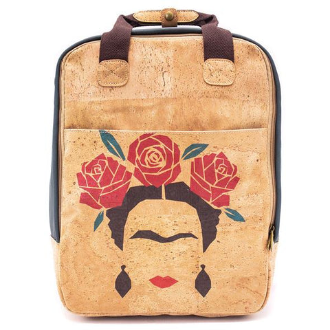 Angelco Accessories Masterpiece Cork Backpack - Frida