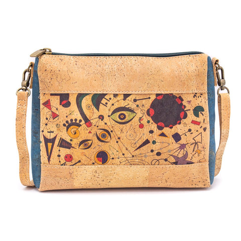 Angelco Accessories Masterpiece small cross body bag -  eyes