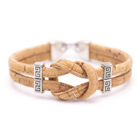 Angelco Accessories Cork knot bracelet