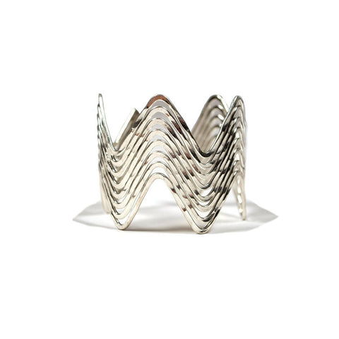 Angelco Accessories wave cuff silver