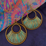 Iris earrings - new colours available