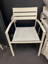Shelta Rouen White Aluninium Chair