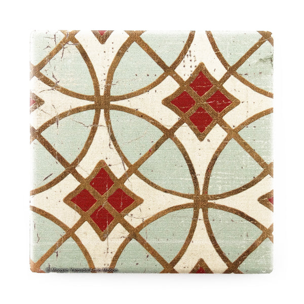 Garden Tile – Set of Four