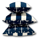 Anchor in Navy Set 2 - 1 Set Only